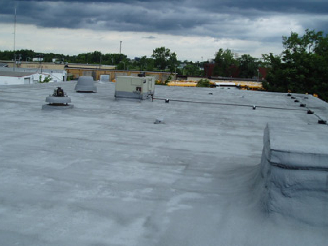 flat commercial roof, rochester ny